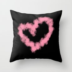 LOVE IN SMOKE Throw Pillow