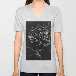 Connection by Sher Rhie Unisex V-Neck
