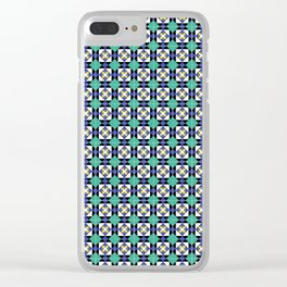 Portuguese tiles no.1 Clear iPhone Case