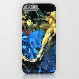 Mikhail Vrubel - Demon - Digital Remastered Edition iPhone Case
