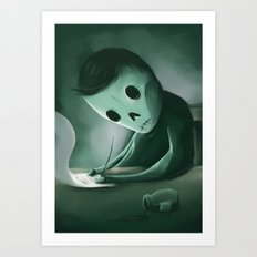 Unwritten Art Print