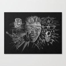 Blackstar by Cap Backard Canvas Print