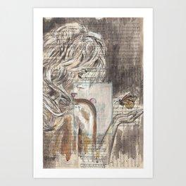 The Dream Girl Art Print