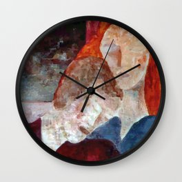 Resting (Repouso) Wall Clock