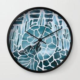 Moonlight Story (Platinum) Wall Clock