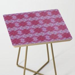 Pink Bloom Shibori Side Table