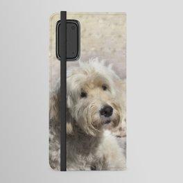 Dog Goldendoodle Golden Doodle Android Wallet Case