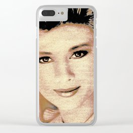 1983 BABE Clear iPhone Case