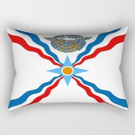 Assyrian Flag Rectangular Pillow
