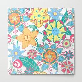 Spring Floral Metal Print