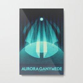 Ganymede - Aurora Ganymede Metal Print