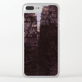 walled city Clear iPhone Case