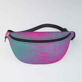 Magenta and Teal Green Fanny Pack