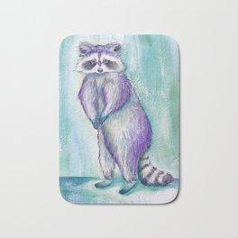 Midnight Raccoon Bath Mat