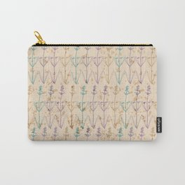 Lavender Herbs Carry-All Pouch