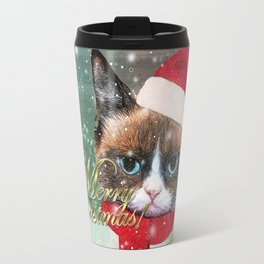 ~ Meowy Christmas ~ Travel Mug