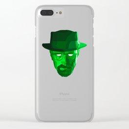 HEISENBERG Clear iPhone Case