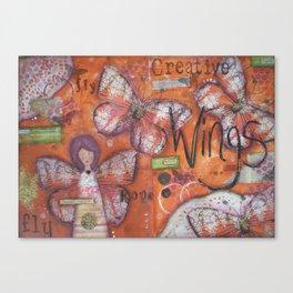 Creative Wings Canvas Print