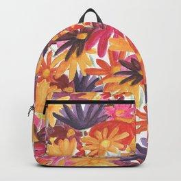 Sunset Flower Backpack