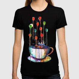 Coffee Splash T-shirt