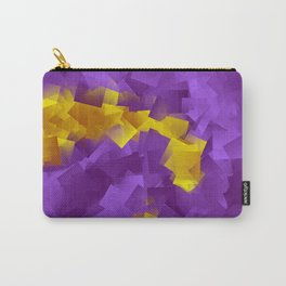 little sqares and rectangles pattern -7- Carry-All Pouch
