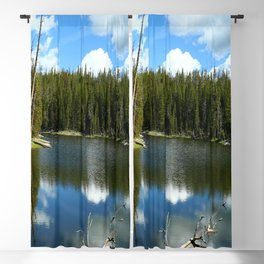 Serenity At West Gull Drive - Yellowstone National Park Blackout Curtain