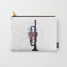 trumpet art #trumpet #music Carry-All Pouch