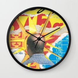 Bald Sun Wall Clock