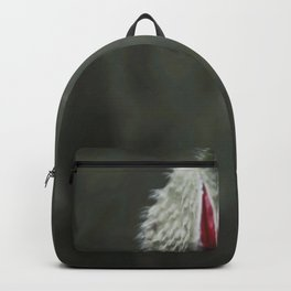 Botanical Still-Life Photography Poppy Unveiled Backpack