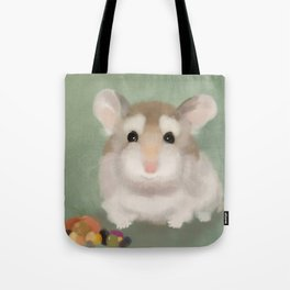 Harvest Hamster Tote Bag
