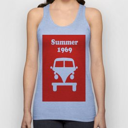 Summer 1969 - red Unisex Tank Top