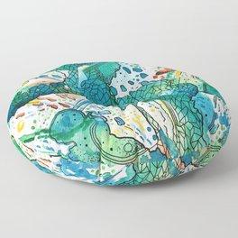 Explode Floor Pillow