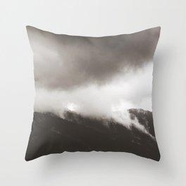 silence beckons 02 Throw Pillow