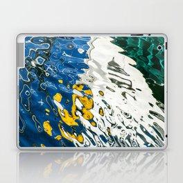 Yellow Blue Green Abstract Laptop & iPad Skin