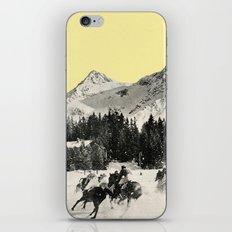 Winter Races iPhone Skin