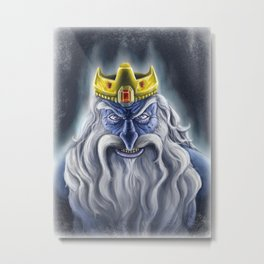 Ice Crown Metal Print