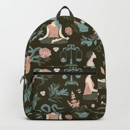 Cleansing thoughts and healing herbs Backpack