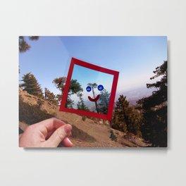 Nature Faces - Tree Waving Goodbye Metal Print