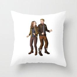 whitney simmons Throw Pillow