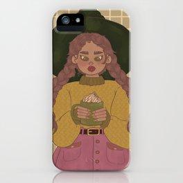 Caramel Hot Cocoa iPhone Case