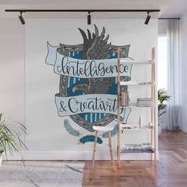 House Pride - Intelligence & Creativity Wall Mural