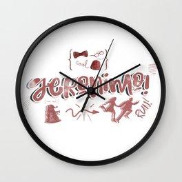 Geroniomo! Wall Clock