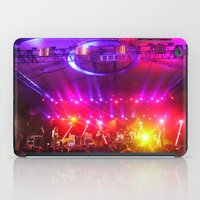 coachella iPad Cases featuring Midnight City M83 Coachella by The Electric Blve / YenHsiang Liang