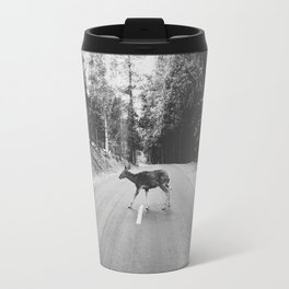 CROSSING / Yosemite Valley, CA Travel Mug