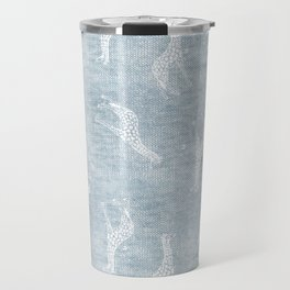 DENIM GIRAFFE Travel Mug