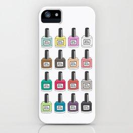 Nail Polish-holic iPhone Case