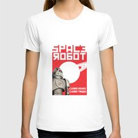 soviet T-shirts featuring Retro Soviet minimalism spacerobot   by Cardula