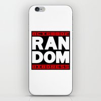 random iPhone & iPod Skins featuring RANDOM by PsychoBudgie