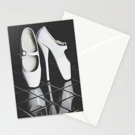 Ballet boots Stationery Cards