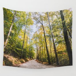Forest Road - Muir Valley, Kentucky Wall Tapestry
